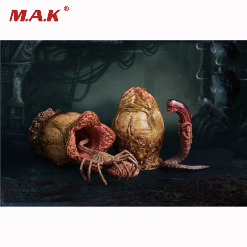 1:6 Scale FG044-B Xenomorph Egg Facehugger Chestburster for 12 inches Action Figure Accessory signed tfboys jackson autographed photo 6 inches freeshipping 6 versions 082017 b