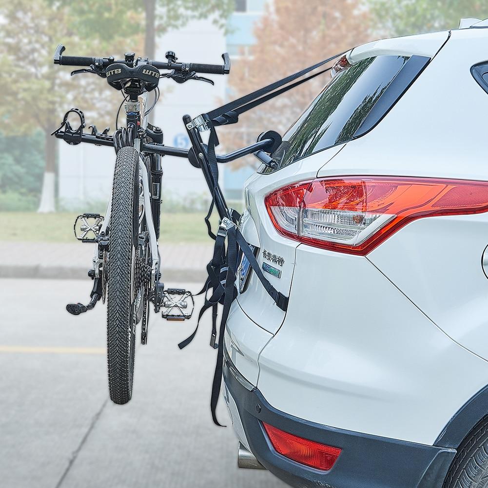 2 Bike Trunk Mounted Car Racks Steel Bicycle Accessories