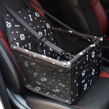 Oxford Car Travel Pet Carrier Dogs Cat Seat Pillow Cage Collapsible Crate Box Carrying Bags Pets Supplies Transport Chien Puppy