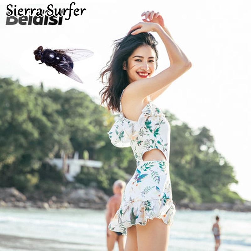 Women's Sport Suits One Piece Swimming Suit Beachwear Swimsuit Indoor Swimwear Woman Plavky Rashguard 2018 Cover Skirt Underwire rashguard 36647553197 65
