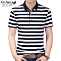 2017 High quality brand men polo shirt new summer casual striped cotton men's polo solid polo shirt polo ralp men camisa NYP091