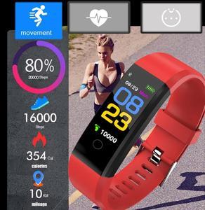 Image 3 - Neue sport smart armband wasserdichte blutdruckmessgerät smart armband fitness tracker smart pedometer smart armband PK my band