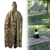 3 In 1 Outdoor Waterproof Backpack Raincoat Tent Beach Mat Sun Protection Canopy  Cycling Rainwear Poncho Outdoor Camping Tent|Raincoats|Home & Garden -