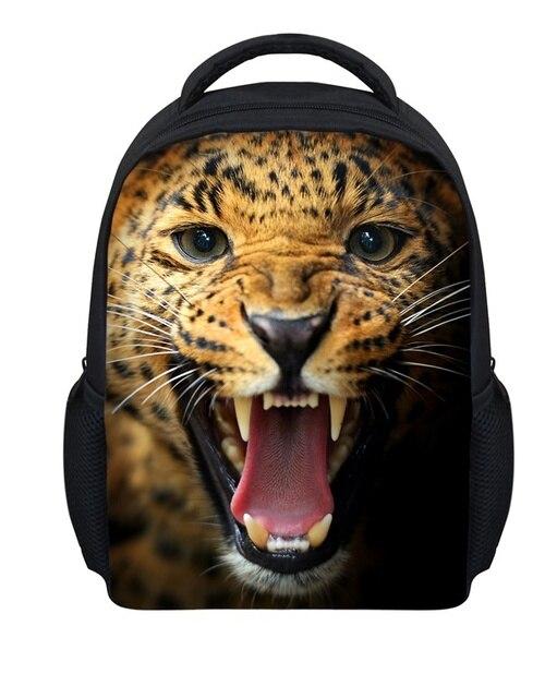 FORUDESIGNS 3D Animal Print Children School Bags Tiger Cat Kids School Bag Cute Pet Dog Mochila Infantil For Boy Girl Backpacks