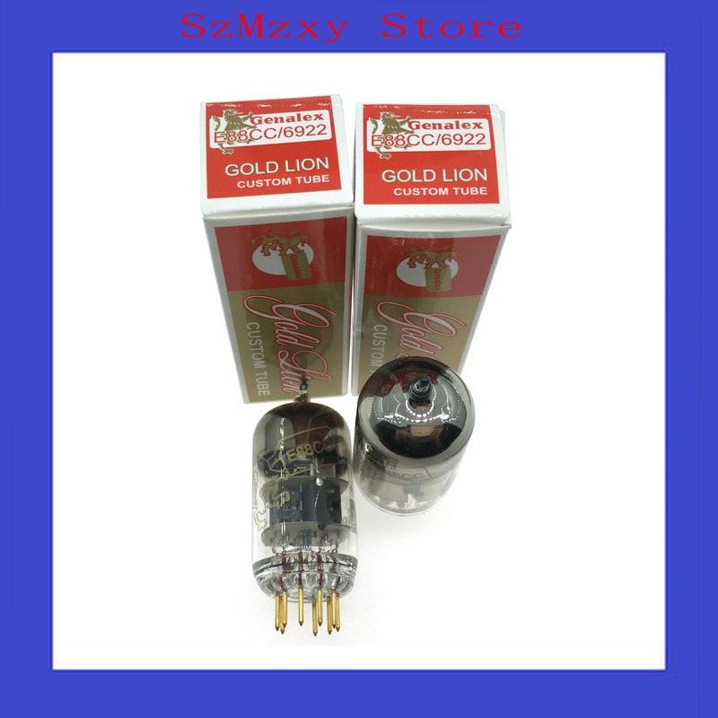 2PCS/LOT E88CC DIY Tube Genalex-Gold Lion E88CC/6922 HIFI 12AX7 finished mc997 dp ess9018 jj e88cc vacuum tube digital player