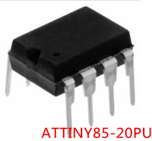 Free shipping 3PCS ATTINY85-20PU ATTINY85 20PU DIP8 The new quality is very good work 100% of the IC chip