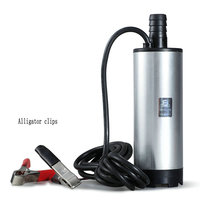 Portable 12V / 24V DC submersible pump / car cigarette lighter pump / small pump / electric pump