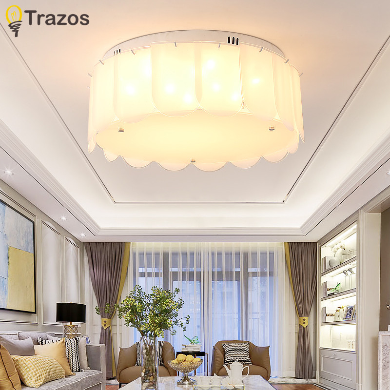 Modern Round Glass ceiling lamp LED lamps Living room restaurant Bedroom LED Ceiling Lights led lustre light  luminaria led Modern Round Glass ceiling lamp LED lamps Living room restaurant Bedroom LED Ceiling Lights led lustre light  luminaria led