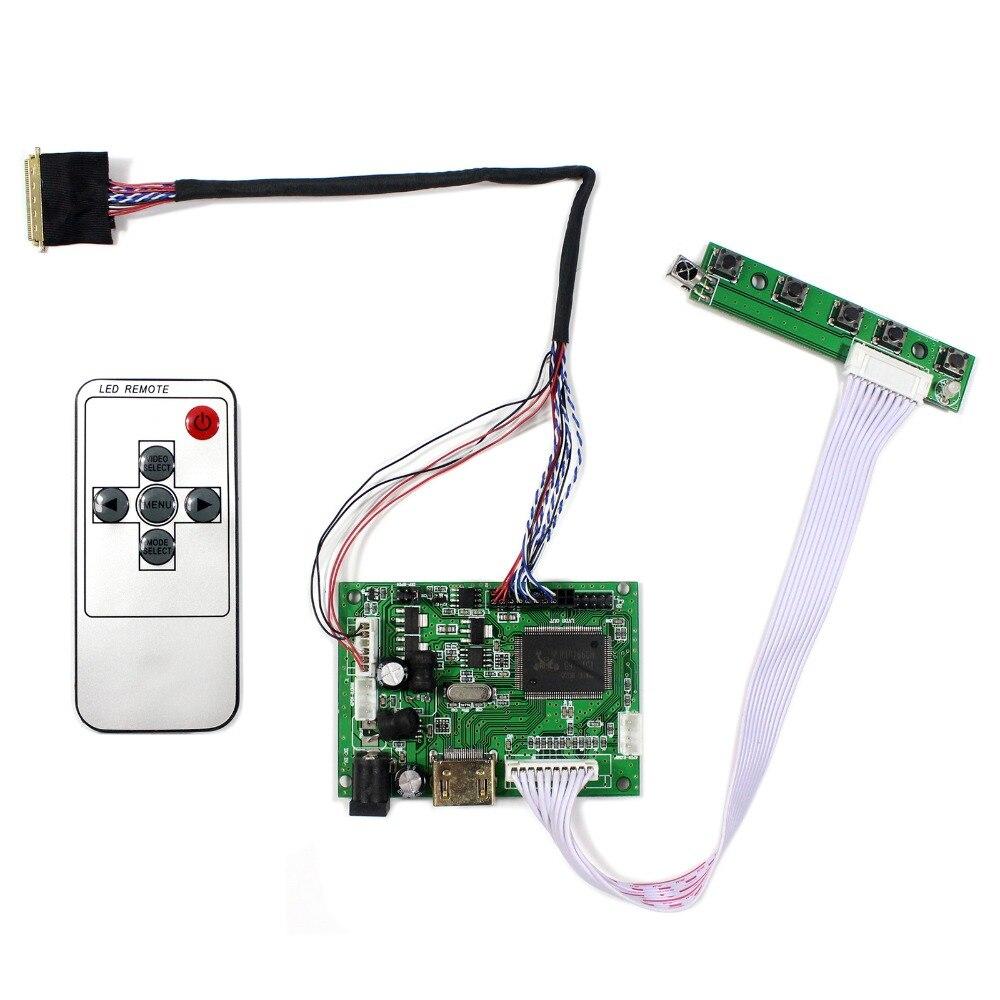 HDMI LCD Controller Board Work For 15.6inch 1366x768 LTN156AT17 B156XW02 LP156WH2 LCD Screen hdmi vga 2av audio lcd controller board for 15 6inch 1366x768 ltn156at17 b156xw02 lcd screen