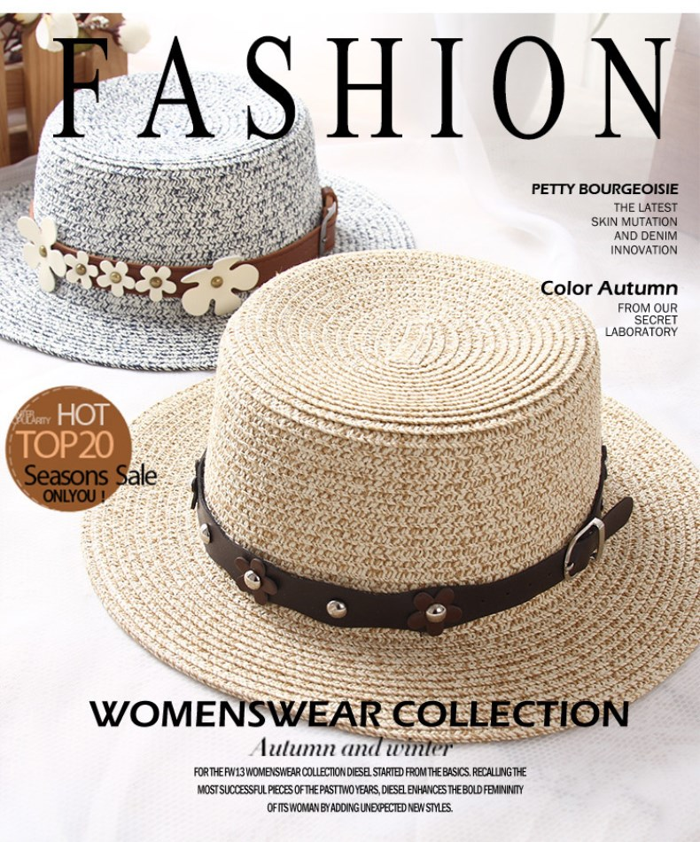 966d63bca77 ... hand made straw hat female casual shade hat summer hat beach cap.  20170626 105956 000 20170626 105956 001