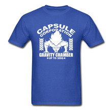 DRAGON BALL Z Capsule Corp T shirts (5 colors)