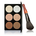 Pro 6 Colors Cosmetic Contour Face Powder Makeup Set High Quality Make Up Eyeshadow Palette
