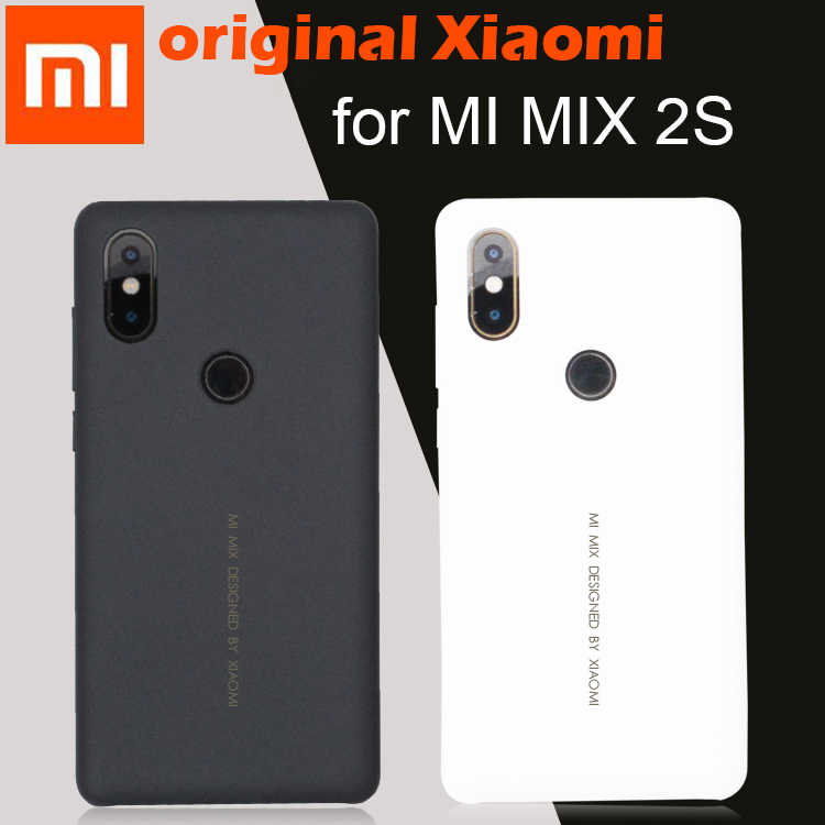 Xiaomi mi mix 2s, capa original, capa fosca, natureza, pc para xiaomi mix 2s tampa do telefone para mix 2s
