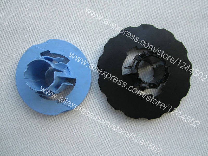 Compatible new Black and blue Spindle Hub for HP T610 T1100 T620 T1120 Z2100 Z3100 T770 T790 T1200 T1300