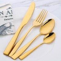 Çatal Seti 24 Parça Paslanmaz Çelik Yemeği Set Restoran Mutfak Düğün Yemek Güzel Yemek Seti Bıçaklar Çatal