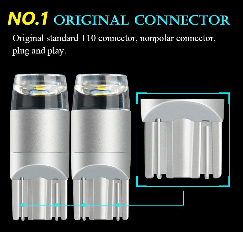 NAO T10 LED W5W LED (5)