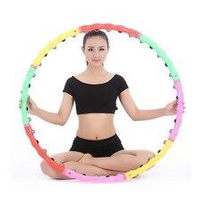 Массажные спортивные обручи, съемное регулирующее кольцо, трубчатый круг, Женский массаж талии, бодибилдинг, фитнес-оборудование для тренировки
