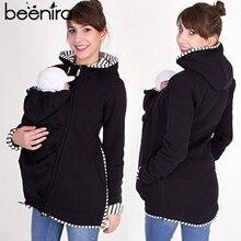 Beenira пальто для беременных зимняя куртка для беременных женщин верхняя одежда с длинными рукавами однотонная одежда для детей одежда куртки