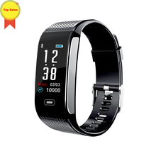 цены на Best seller Smart Band Fitness Bracelet Tracker Pedometer Wristband Blood Pressure Heart Rate Wrist Watch Android& IOS PK CK11S