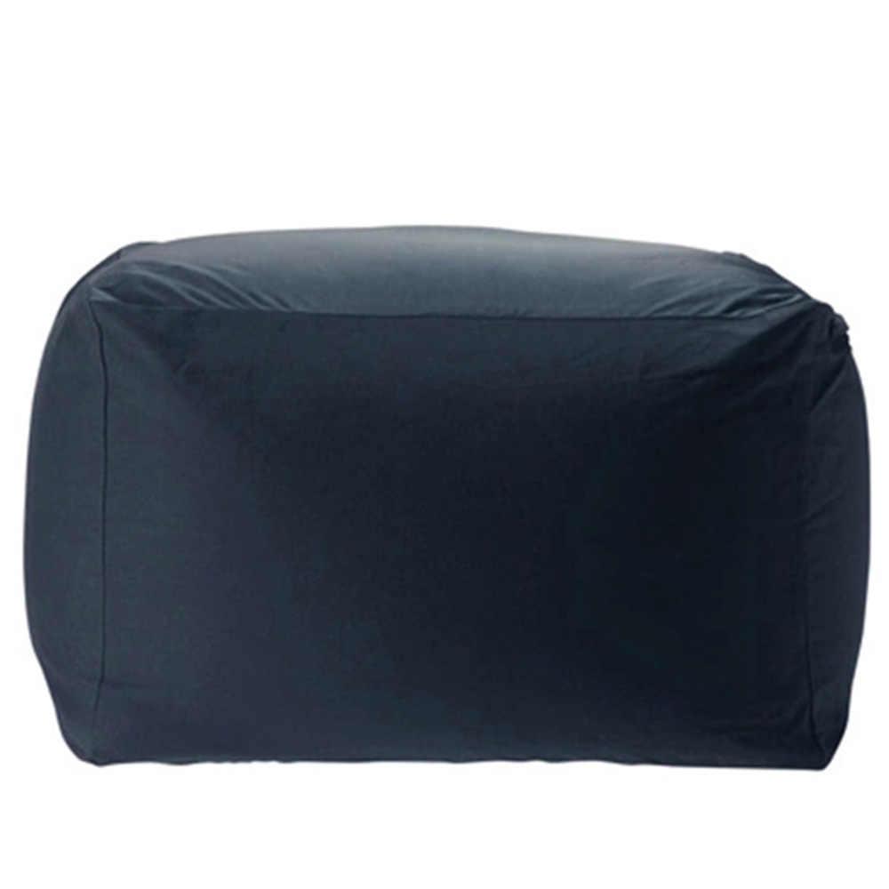 Levmoon Beanbag Cadeira Do Sofá do Saco de Feijão de Assento Adulto Zac Quadrado Tampa de Cama Sem Enchimento Pufes Interior