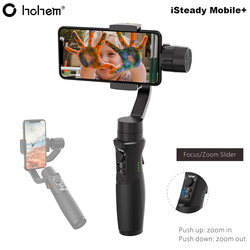 Hohem iSteady Mobile Plus 3-Axis Handheld Smartphone Gimbal Stabilizer for iPhone XS X 8P 8 Samsung S9 S9+ S8 Pk Zhiyun Smooth 4