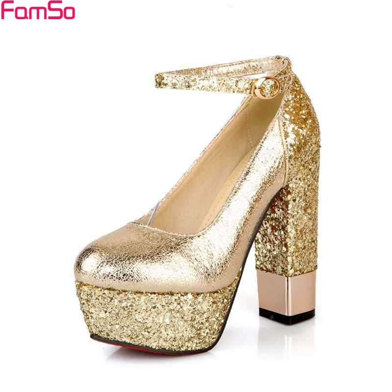 aliexpress buy famso size34 42 2017 prom shoes thick