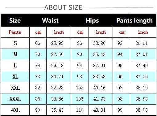 裤子93,4XL