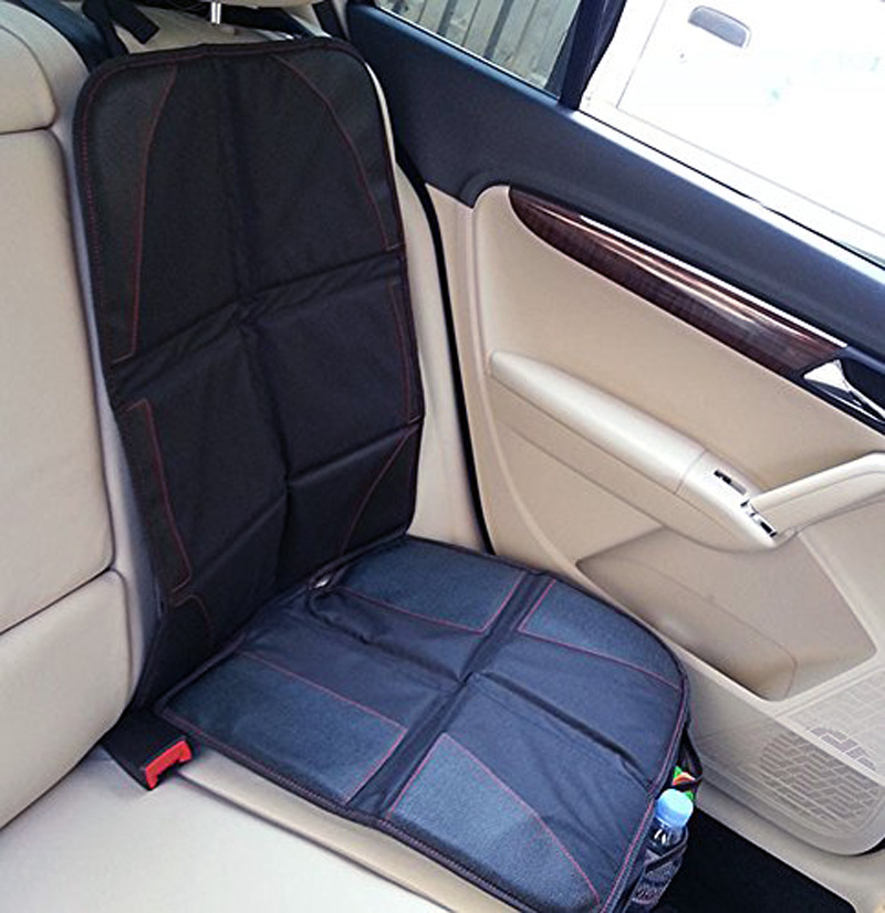 New Oxford PVC Leather Car Seat Cover Baby Child Safety Anti Friction Pad Auto Protector Mat Protection For Seats In Automobiles Covers