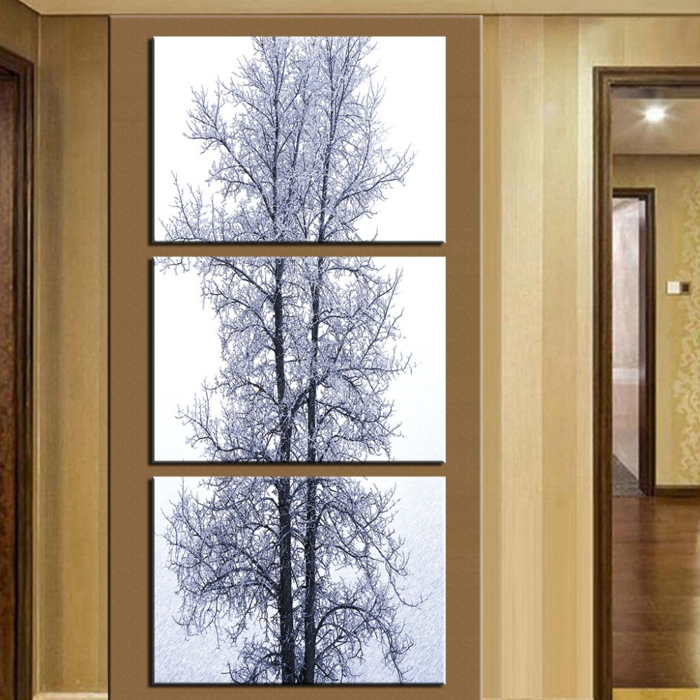 large vertical canvas wall art