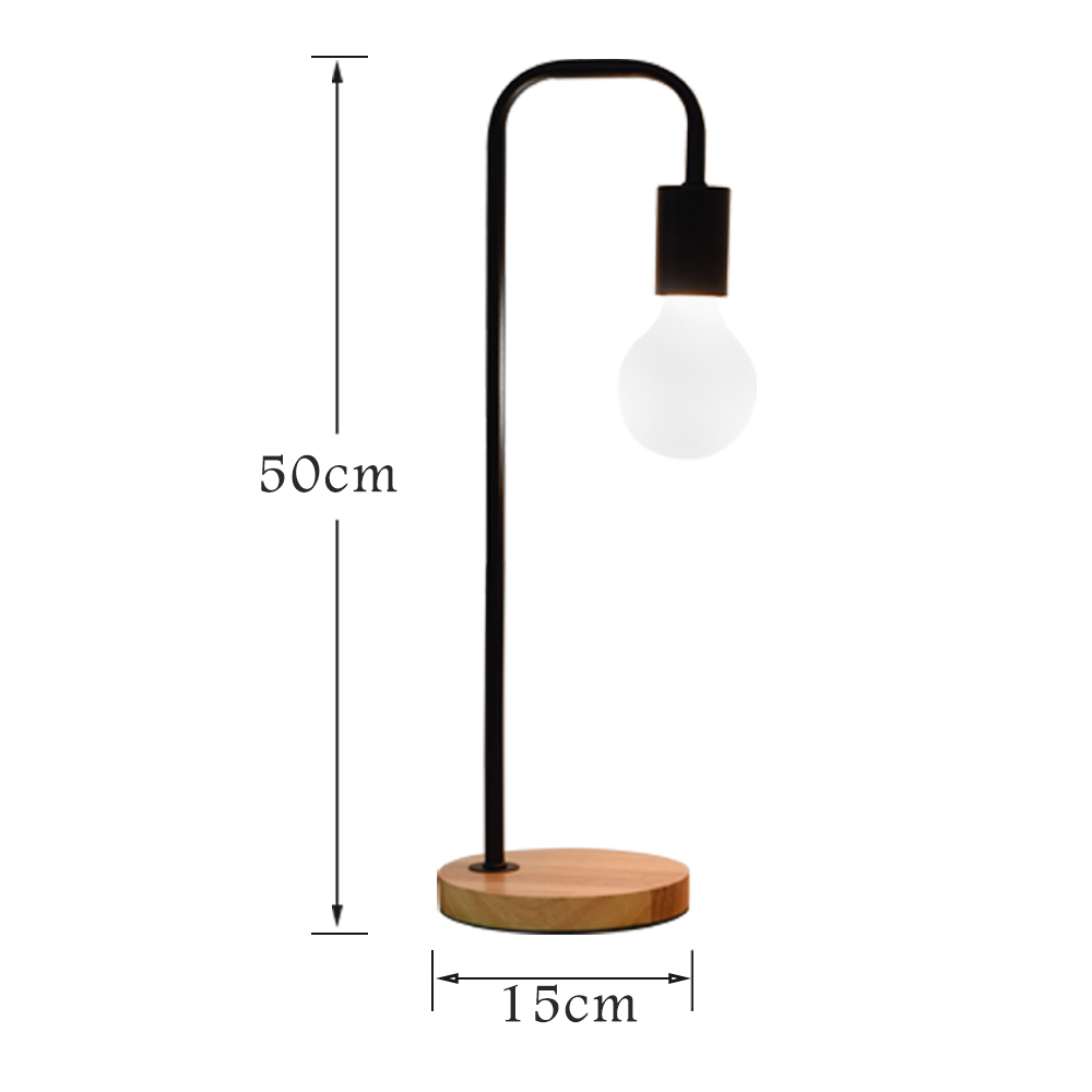LUCKYLED Loft Industrial Style lamp Iron Craft Logs Chassis E2627 ...