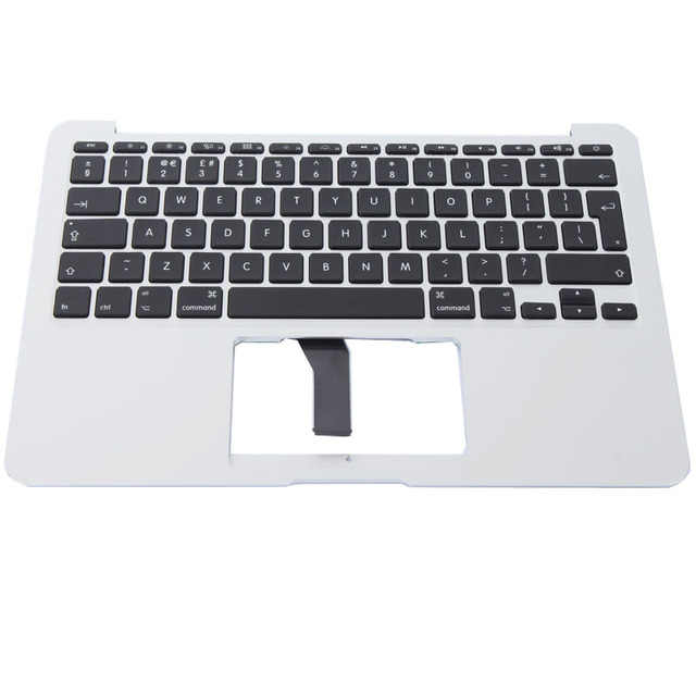 the latest 2f6d0 cccca Brand New Laptop topcase with keyboard UK For Apple Macbook Air 11''A1465  Topcase C Cover with UK Keyboard 2013 Year-in Replacement Keyboards from ...