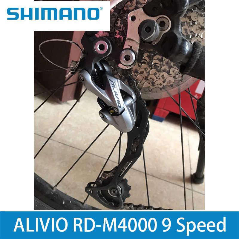 Новый ALIVIO RD-M4000 9 задний переключатель скорости 3s * 9s 27s MTB велосипед длинная клетка переключатель M4000 Lucky New