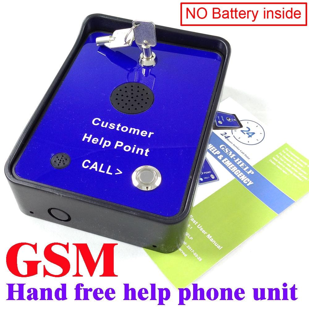 2016 непромокаемый GSM телефон GSM Help point Handsfree домофон для сервисной компании или такси помощь
