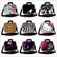 New 10'' 14 15 11.6 13.3 17.3 17.4 Tablet PC Portable Laptop Bag Notebook Case Cover Sleeve Shoulder Strap,Outside Pocket