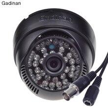 """Gadinan 1/3 """"de Color HD CMOS 800TVL/1000TVL 3.6mm Lente IR Cut 48 unids IR de La Visión Nocturna de Interior Dome CCTV Cámara de Seguridad"""