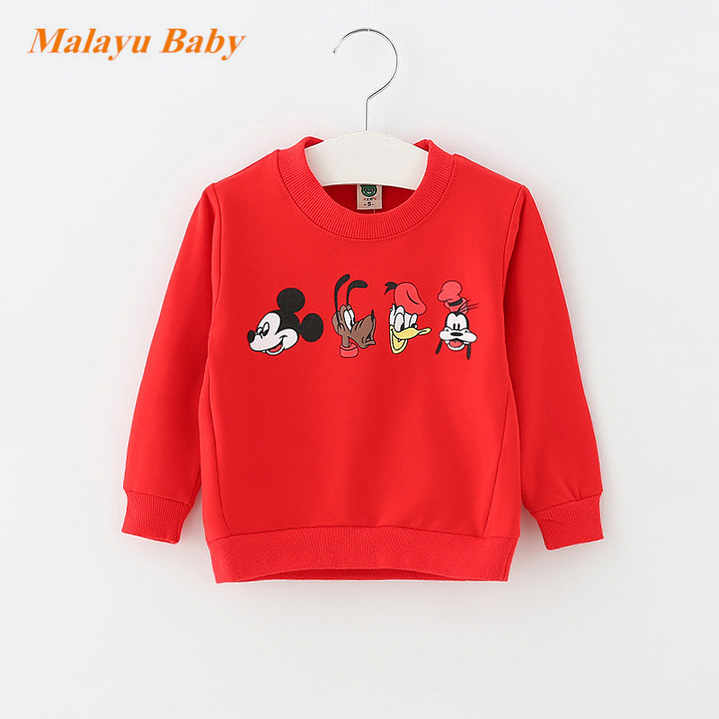 Malayu-Baby-2017-Autumn-Infant-Cotton-Cartoon-Sweater-Baby-Boy-Girl-Donald-Duck-Mimi-Print-Long-Sleeve-Fashion-0-2-years-baby-5