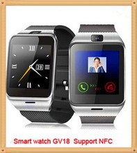 Unterstützung NFC Aplus GV18 A18 Smart bluetooth uhr mit Kamera bluetooth armbanduhr sim-karte Smartwatch für iPhone 6 Android-Handy