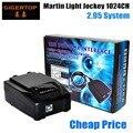 TIP TOP Factory Exclusive Sale Martin Lightjockey 1024DMX Channel Hi-Quality Lightjockey DMX Controller 512*2 Input DMX Channel