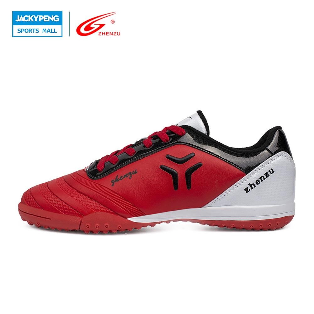 ZHENZU  Boys Children Soccer Shoes TF Turf Soccer Boots Professional Training Football Shoes Botas De Futbol  , Size 30-35