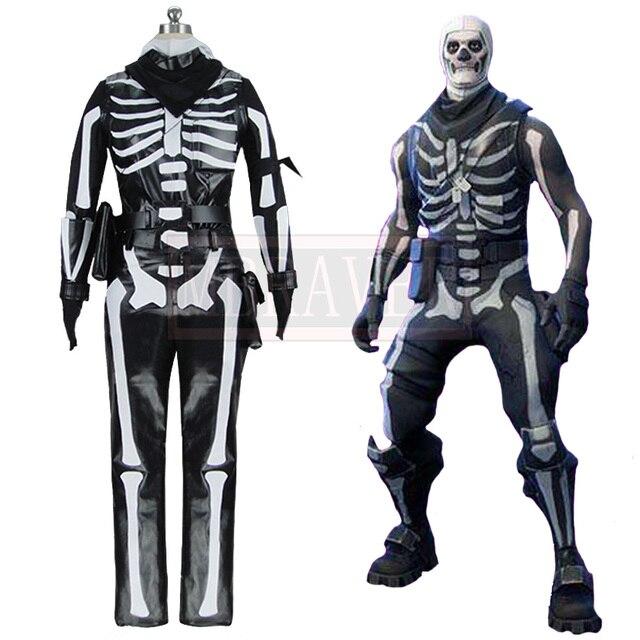 US $125 0 |Flytrap Skin Decoration Ninjago Clown Boy Cosplay Clothes Battle  Royale Skeleton Cavalry Skull Trooper Halloween Costume -in Game Costumes