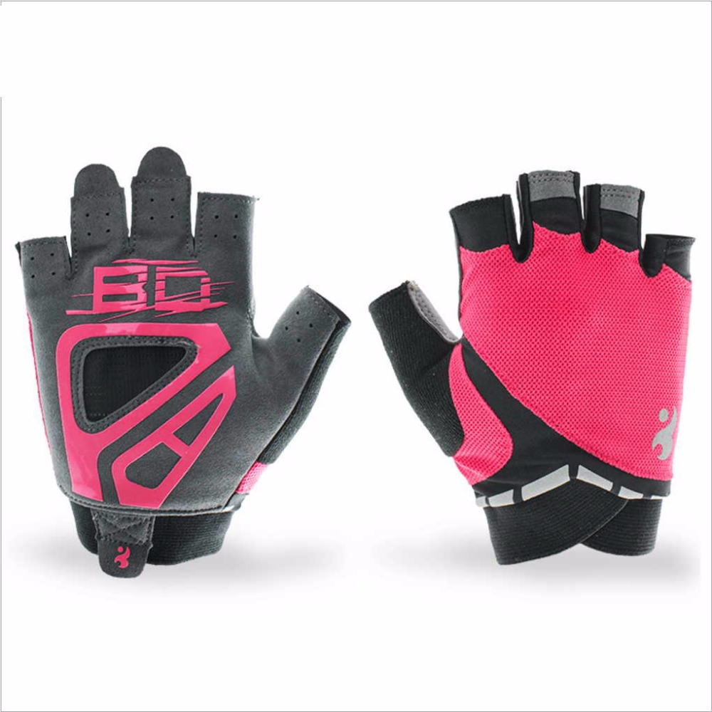 1Pair Boodun WoMen Anti Skid Weight Lifting font b Glove b font Breathable CrossFit Gym Fitness