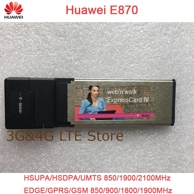 HUAWEI MOBILE CONNECT EXPRESS E870 DRIVERS UPDATE