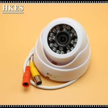 1200TVL CMOS Color IR CUT Cctv Security Camera Dome Video Wide Angle 3.6MM