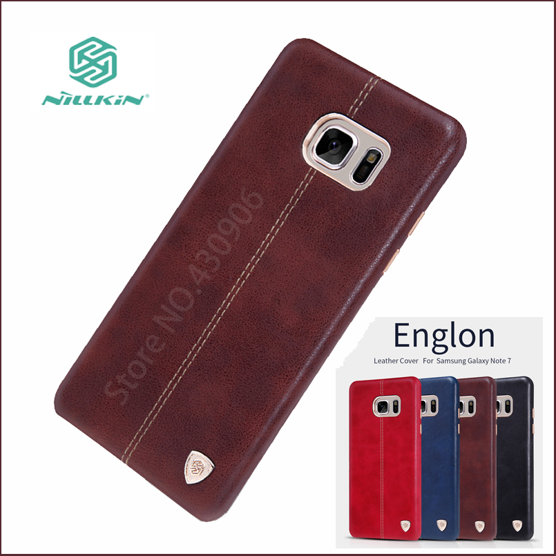 Nillkin For SAMSUNG Galaxy Note Fan Edition Case Hight Quality PU Leather Back Cover For Samsung Galaxy Note 7