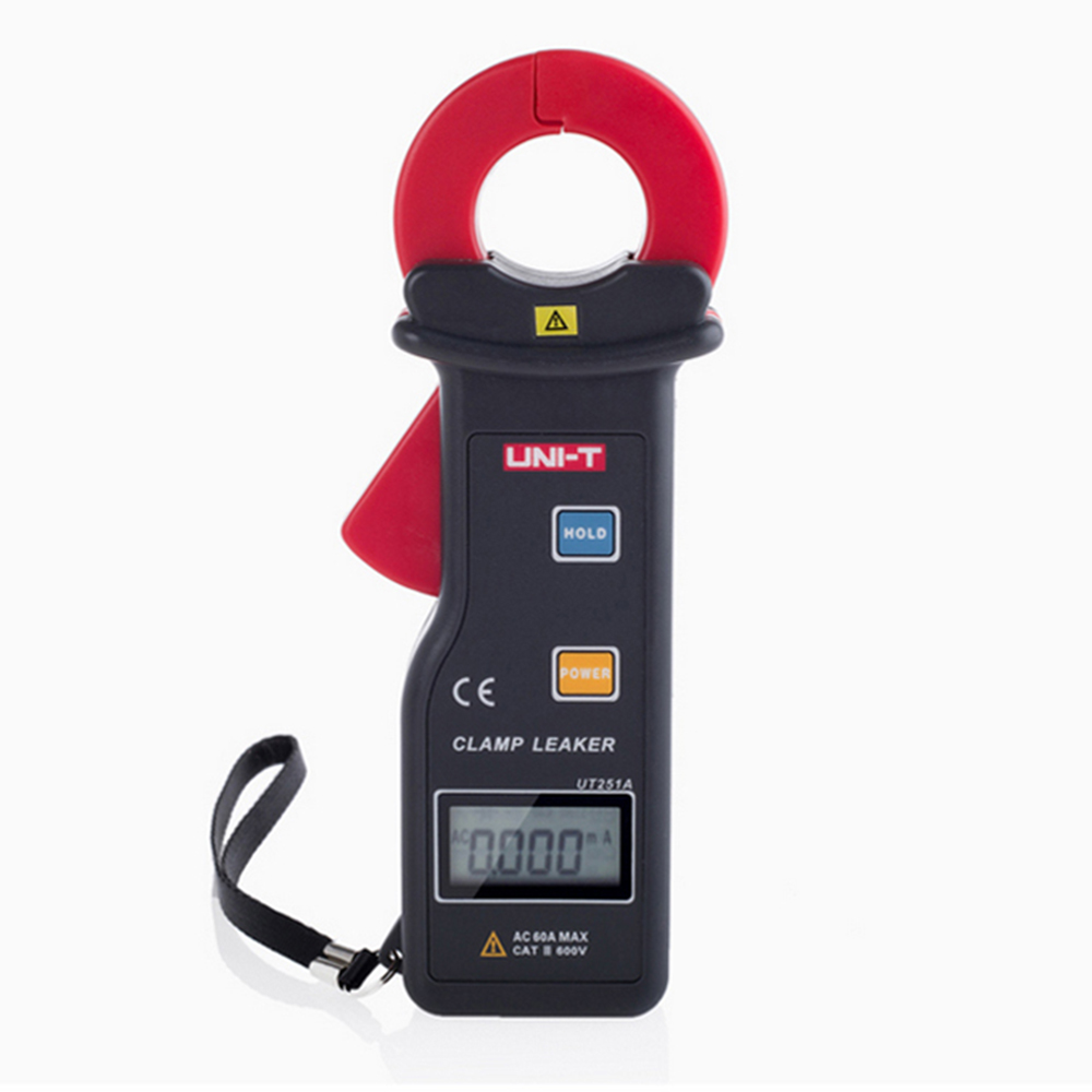 UNI-T UT251A RS-232 10000 Counts High Sensitivity Leakage Current Clamp Meters w/99 Data Logging Ammeter Multitester