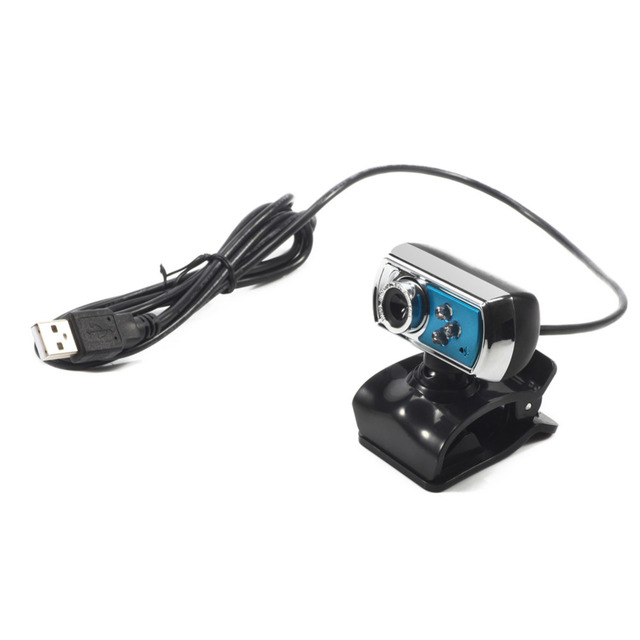 USB Webcam HD Web Camera 12M Chip and Lens with Mic & Night Vision for PC and Laptop 5