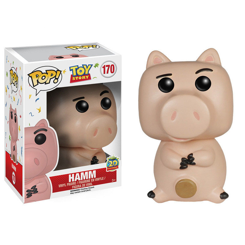 FUNKO POP Toy Story Vinyl Figure HAMM 20th Anniversary Collection Action Figure Dolls Toy For Kids Christmas Gifts