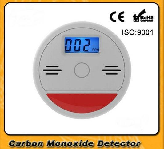 FDL LCD Independent CO Gas Sensor Carbon Monoxide ...