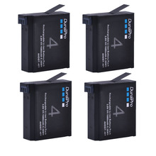 4 шт. 1680 мАч AHDBT-401 AHDBT401 AHDBT 401 Gopro Hero 4 цифровой Камера Батарея для AHDBT401 GoPro Hero 4 HD Камера