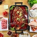 Многофункциональная электрическая сковорода для жарки тортов и гриля машина антипригарная сковорода 7.5л большая емкость
